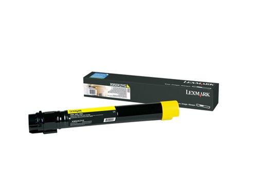 Preisvergleich Produktbild Lexmark X950X2YG X950, X952, X954 Tonerkartusche Extra Hohekapazität, gelb