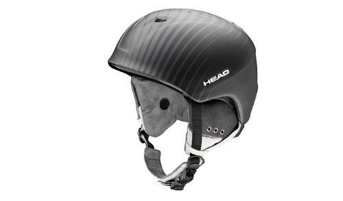 HEAD Unisex Pro Audio Snowsports Helm, Herren, Schwarz, XS-S (52.0-55.0) cm -