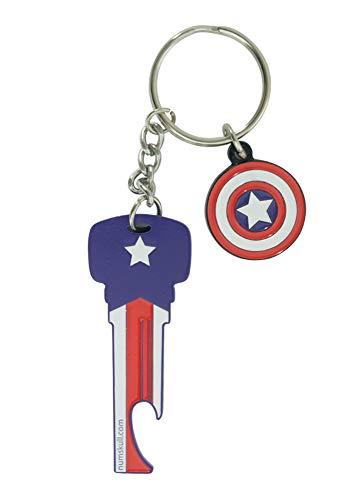 tain America Bottle Opener Key Style ()