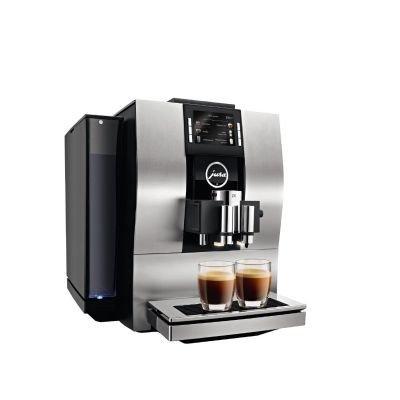 Jura Z6aluminium Combi Coffee Maker 2.4L 20tazze amande, noir