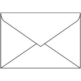 SIGEL DU060 Briefumschläge weiß, DIN C6, 50 Stück, gummiert