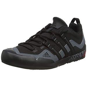 Adidas Sport shoes, Black (Black/BLACK/LEAD), 44 2/3 EU - 10 UK
