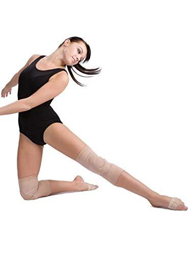 Gel Knee Pads Gelschoner für die Knie von Capezio Bunheads (Small/Medium)