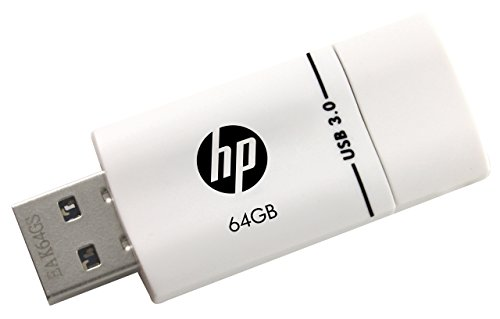 HP X765W USB 3.0 64GB Pen Drive (White & Black)