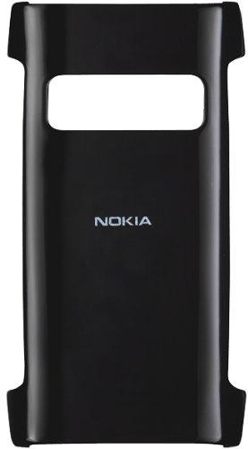 Nokia CC-3018 Hard Cover für Nokia X7 schwarz transparent