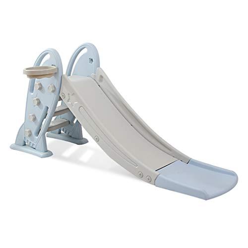 Rutschen Für Kinder Kombinationsspielzeug Für Den Innenbereich Kinderspielzeug Für Den Außenbereich Kletterspielzeug Für Kinder (Color : Blue, Size : 175 * 48 * 80cm)