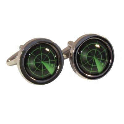bordered-radar-cufflinks