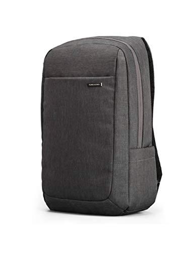 QWERTY Stoßfester Luftpolsterbeutel Laptop Tablet Rucksack Männlich & Weiblich Wasserdicht Diebstahlsicher, Grau