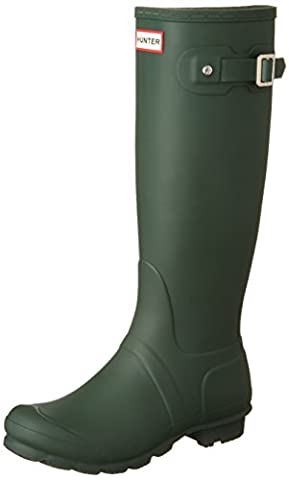 Hunter Original Tall, Women Rain Boots, Green (Hunter Green), 5 UK (38 EU)