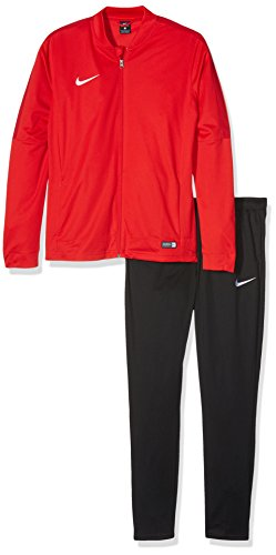 Nike Herren Academy 16 Knit Tracksuit Trainingsanzug, 808757 Rot (University Red/Black/Gym Red/White), M (Pants Mens Knit)