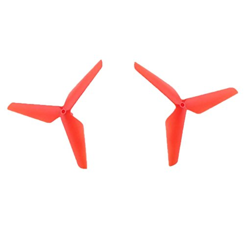 55mm Klee Propeller Ersatzteile für Syma X5C Jjrc H5C RC Drohne Quadcopter - Rot, 55mm/2.17 Zoll - 2