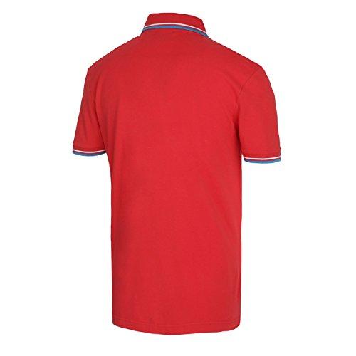 Diadora Jungen Poloshirt Rosso