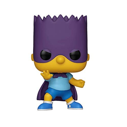 Funko Pop Animation: Simpsons - Bart-Bartman 6