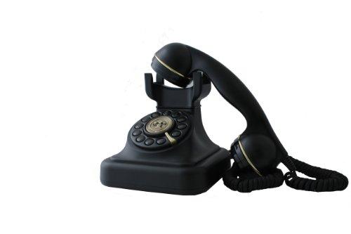 Swissvoice Vintage 20 - Schnurgebundenes Analog-Telefon im stilvollen Retro-Design mit vergoldeten Details - 4