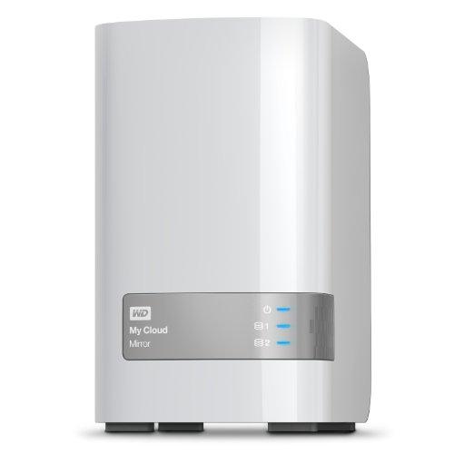 WD My Cloud Mirror - Almacenamiento en la nube personal 1 Bay NAS de 3TB (USB 3.0 de expansión, certificado para DLNA 1.5 y UPnP), blanco