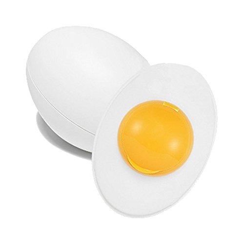 Holika Holika Sleek Egg, Mascarilla exfoliante y limpiadora para la cara (Blanco) - 140 ml.