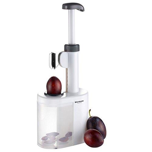 Westmark Pflaumenentsteiner, 10,9 x 6,7 x 26,5 cm, Kunststoff/Edelstahlklinge, Prunus, 40232260