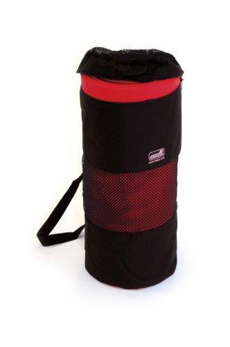 Sissel - Funda portátil para esterilla de entrenamiento, color negro