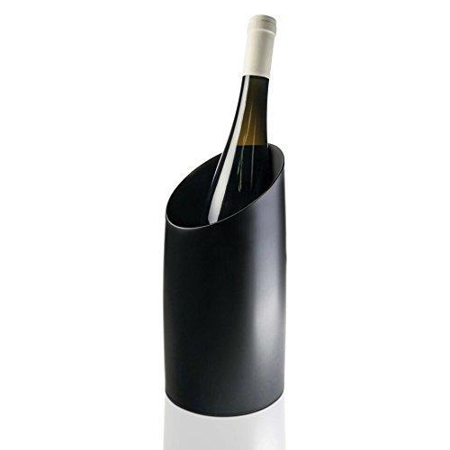 Nuance Weinkühler in schwarz, Edelstahl, 18x12x9 cm