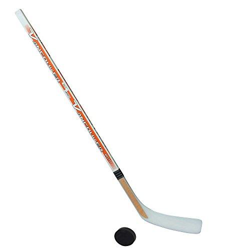 Eishockeyschläger-Set Junior 5: 1 Vancouver-Schläger 115cm gerade Kelle & Puck