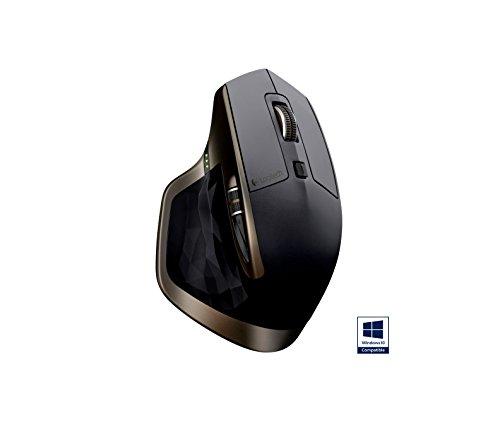 Logitech MX Master kabellose Maus für Windows/Mac mit Verbindungsmöglichkeiten (Bluetooth, Unifying) - 3
