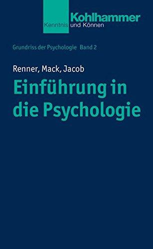 Grundriss der Psychologie: Einführung in die Psychologie (Urban-Taschenbücher)