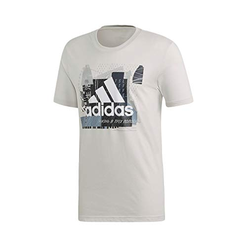 adidas Herren MH BOS Graph 2 T-Shirt raw White S
