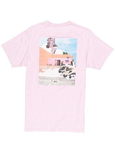 Herren T-Shirt Billabong Killyouridol T-Shirt Pink Lavender