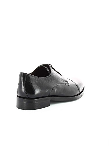Fontana 5576-C Elegant shoes Man Schwarz
