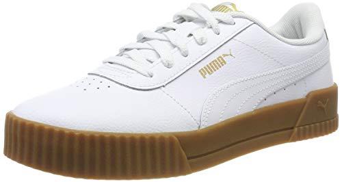 Puma Carina L, Scarpe da Ginnastica Donna, Bianco White-Gum 07, 36 EU