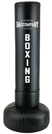 Heavy Duty Standboxsack 190x40cm - Freestanding Punching Bag black BCA-72