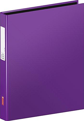 Fontaine-106552160-Classeur-A4-Carton-Housse-20-mm-Hauteur-de-remplissage-2-anneaux-Violet