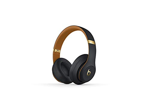 Beats by Dr. DRE MTQW2ZM/A Beats Studio3 Wireless Headphones – The Beats Skyline Collection - Midnight Black Midnight Black