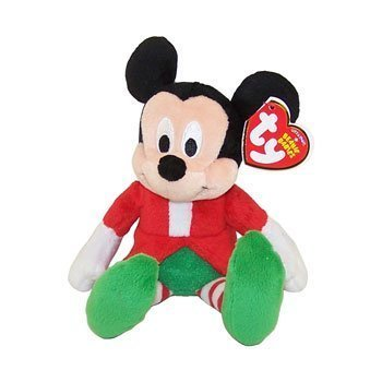 Ty Beanie Baby - Disney Christmas Holiday (Mickey) (Walgreens Exclusives) by Ty & Disney via Walgreens (English Manual) (Mickey Ty Beanie)