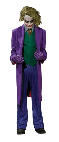 Joker Deluxe Kostüm - The Dark Knight - ()