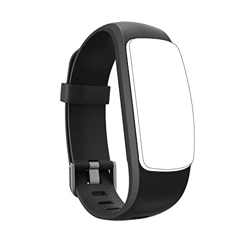 SinceY Ersatzarmband Für D107 Plus HR Fitness Tracker & Viele Weitere Modelle Aus Hautfreundlichem TPU & Nickelfreiem Verschluss