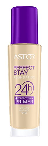 Astor Perfect Stay 24h Make Up plus Perfect Skin Primer, Farbe 091, 1er Pack (1 x 30 ml)