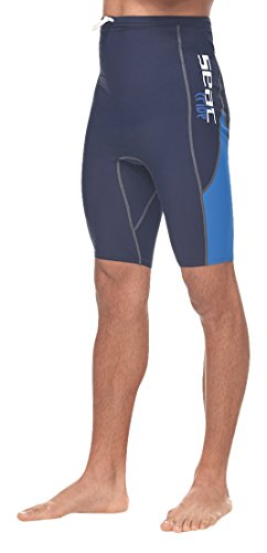 Seac Uni Watersport Pant RAA PANT EVO, blue/blue clear/white, L, 931804 (Hosen Lycra Herren)