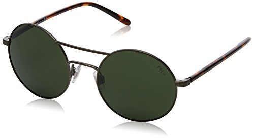 Polo Ralph Lauren Damen 0Ph3108 932771 51 Sonnenbrille, Gold (Aged Brze/Bottlegreen)
