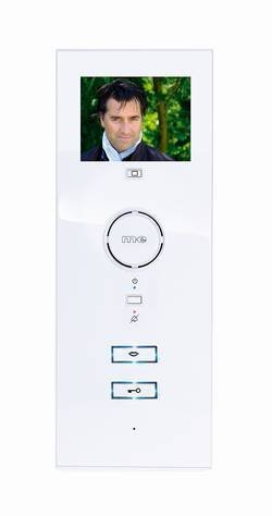 Modern Electronics VDV-503 WW White Video Indoor Intercom Station