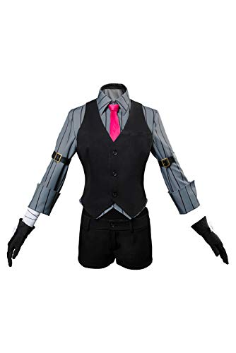 Jack Damen Kostüm The Ripper - MingoTor Fate/Grand Order Jack The Ripper Valentine's Outfit Cosplay Kostüm Damen S