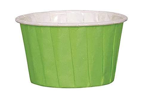 Lime Green Sauce Pots or Candy Cups, Pack of 16
