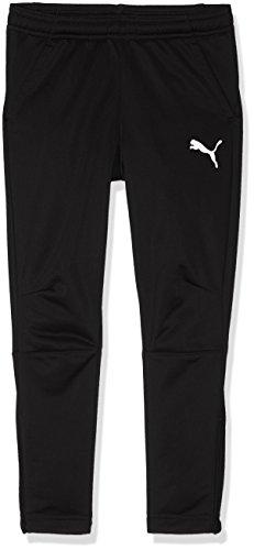 Puma Liga Training, Pantalones Niños, Negro Black/White