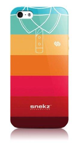 Snekz Coque brillante pour iPhone 5/5S Motif polo Muliticolour Five Muliticolour Five