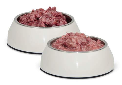 Frostfutter Nordloh Geflügel- und Rindfleischkiste 25kg - tiefgefrorenes Barfpaket für Hunde- und Katzen