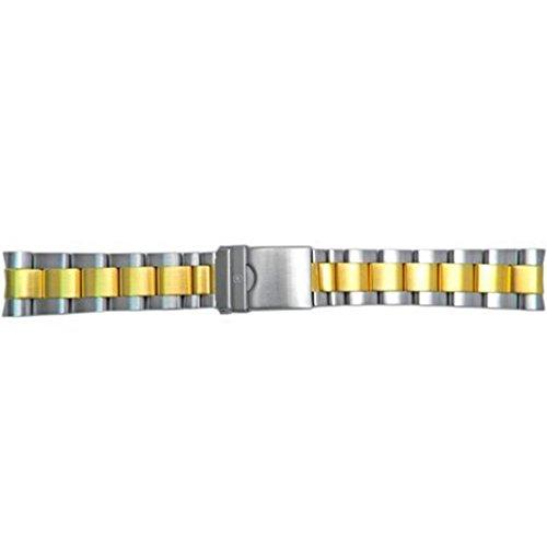 Echten Schweizer Armee Maveric GS Dual Tone 22mm Armbanduhr Armband