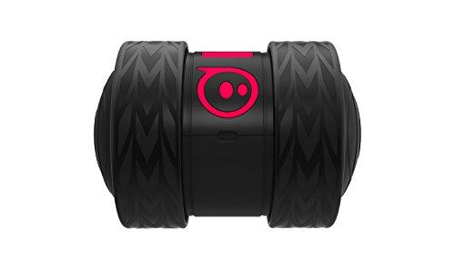 Sphero Ollie Darkside mini robot a due ruote, luci LED incluse, portata Bluetooth fino a 30 metri, compatibile iOS & Andro