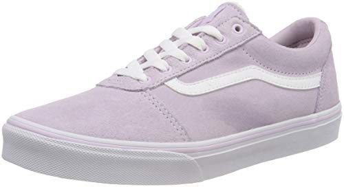 Vans Mädchen Ward Suede Sneaker, Pink ((Weatherized) Lavender U39), 38 EU