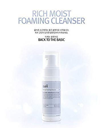 KLAIRS Rich Moist Foaming Cleansing, Korean Cosmetics, Korean Beauty, Kpop Beauty, Kstyle by KLAIRS