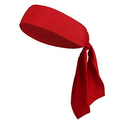 Ninja Kostüm Mädchen Für Teenager - Stirnbänder Krawatte am Stirnband für Herren Damen Sportliches Haar Stirnband Elastischer Sport Schweiß Basketball Schweißband Yoga Workout Schweißbänder Einstellbare